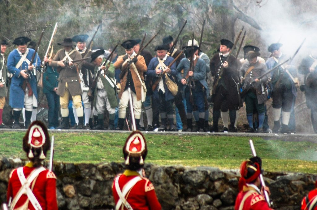 Northeast Massachusetts Events: Patriots Day Revolutionary War Reenactment