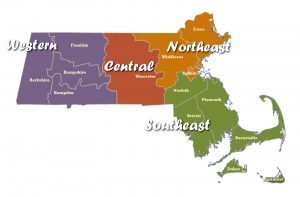 Northeast Massachusetts Fireworks: Regions & Counties