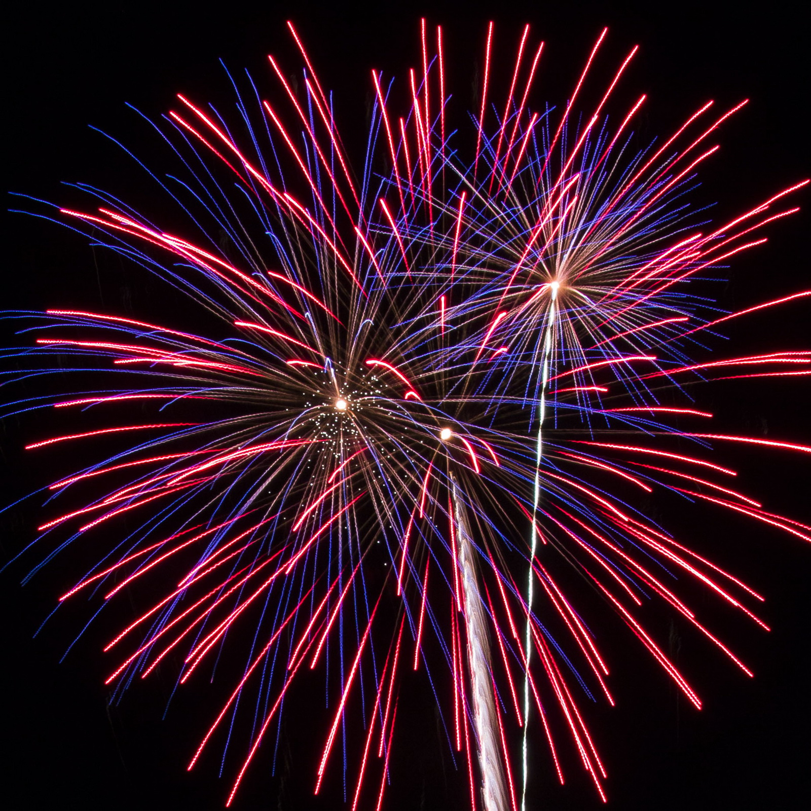 Massachusetts Fireworks: Patriotic Displays or red, white and blue