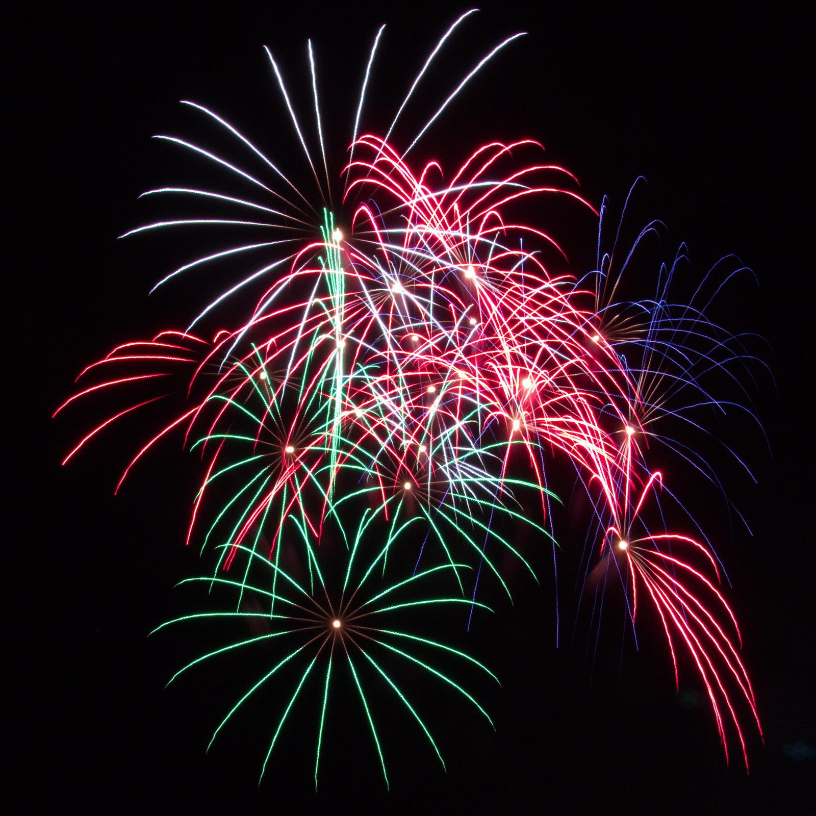 Massachusetts Fireworks: dancing pyrotechnics