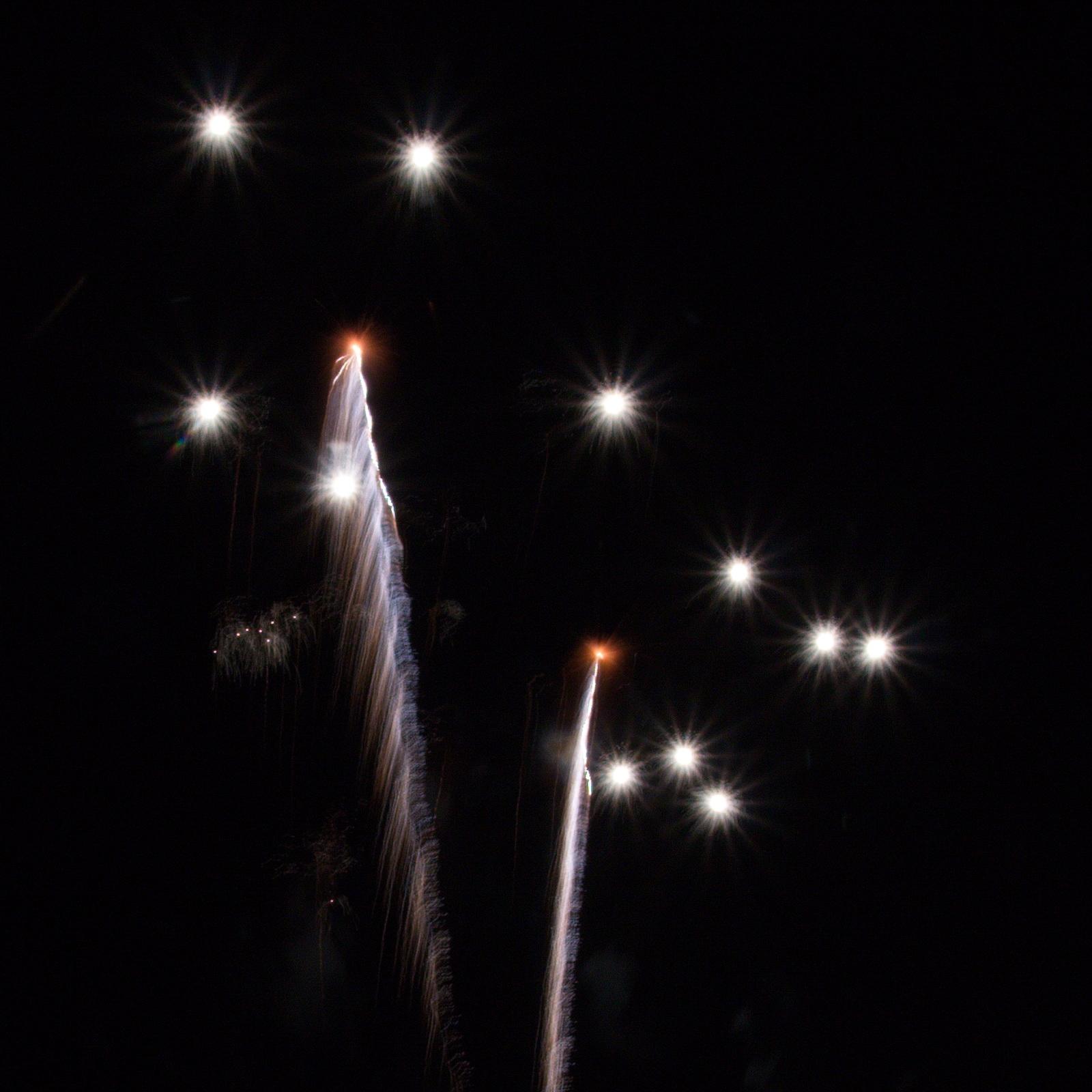 Massachusetts Fireworks: the show begins