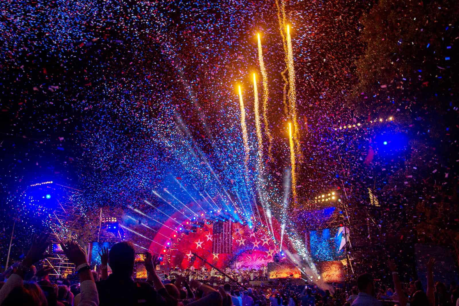 Boston Pops Fireworks & Confetti Finale