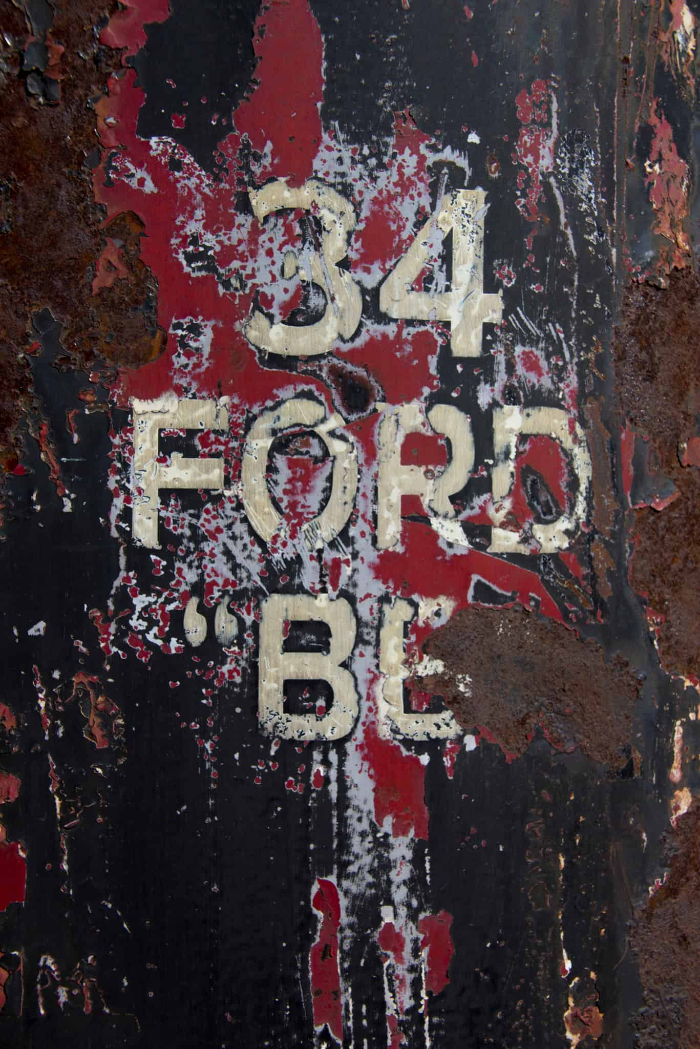 2016 Cars of Summer 34 Ford Grunge and Rust