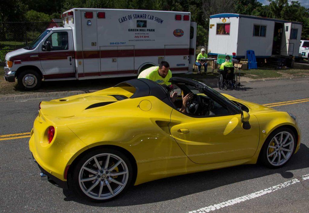 2016 Cars of Summer - Yellow Alfa Romeo