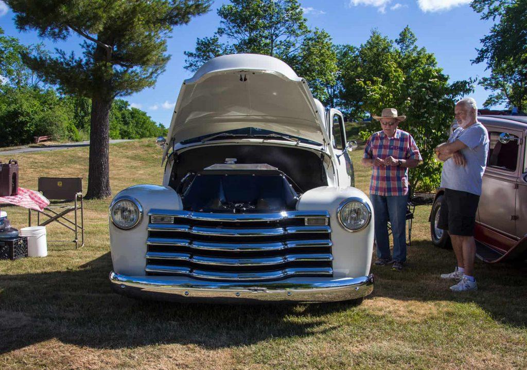 2016 Cars of Summer Casper in Chrome at the Car Show
