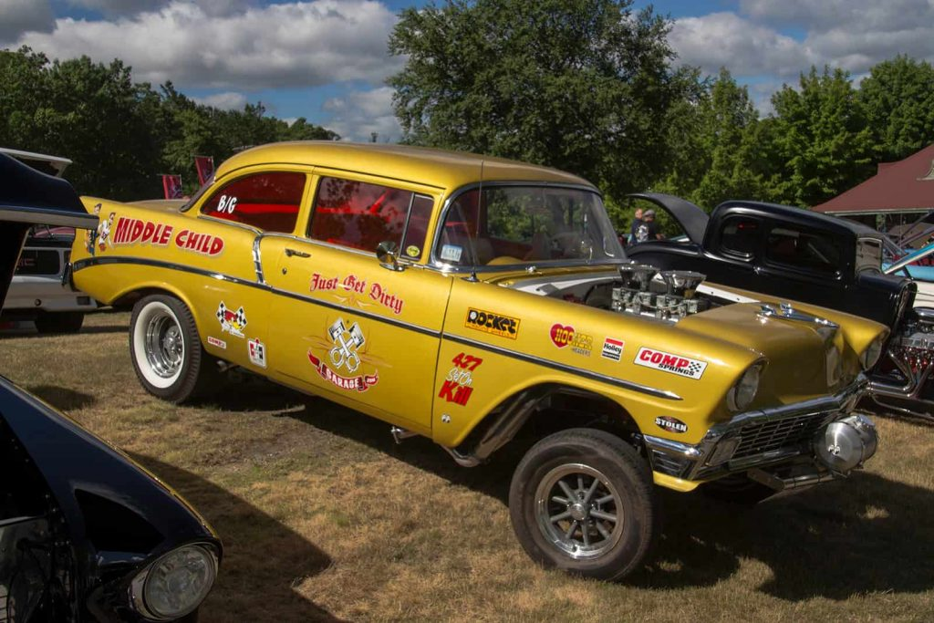 2016 Cars of Summer Chevy Dragster - Middle Child