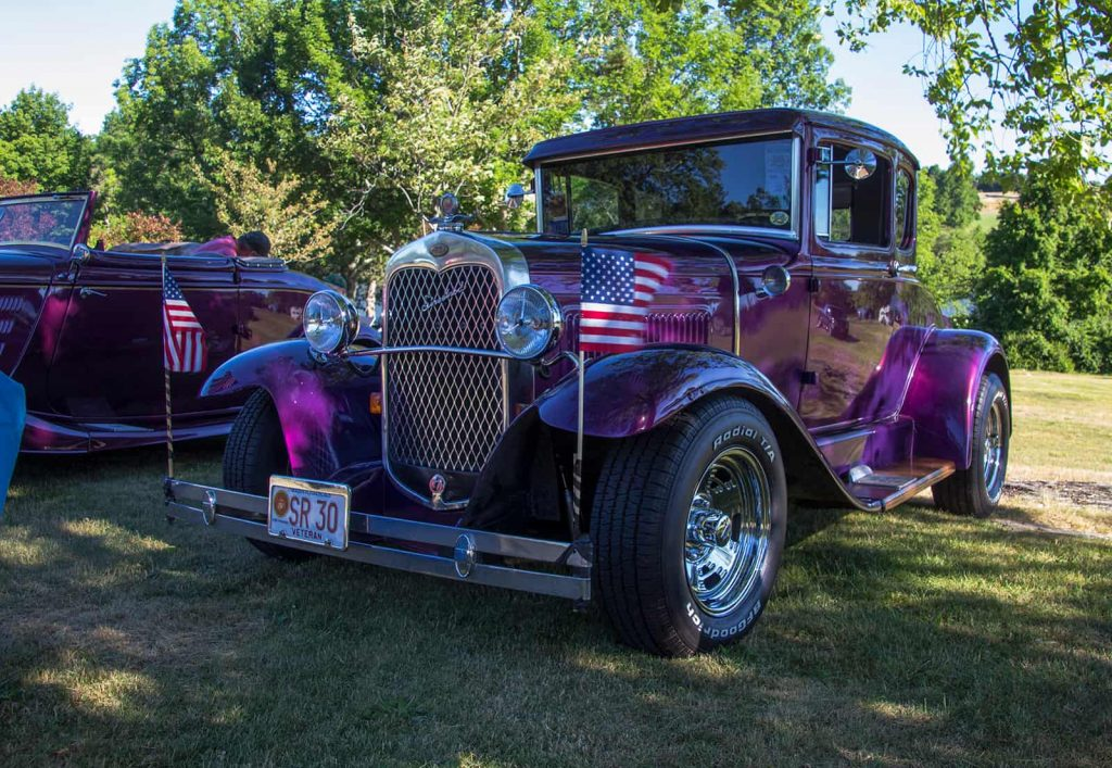 2016 Cars of Summer - Purple - Cool in the Shade