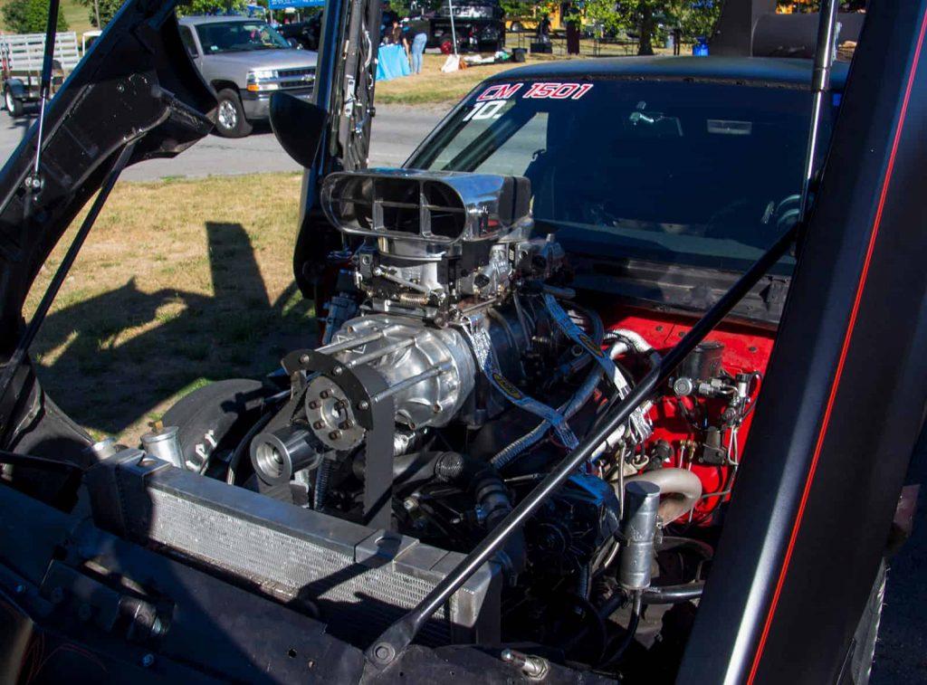 2016 Cars of Summer under the hood - EL Camino Dragster