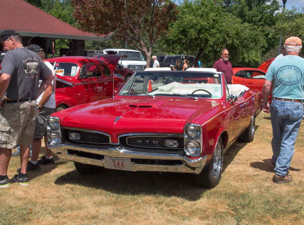 2016 Cars of Summer Red GTO