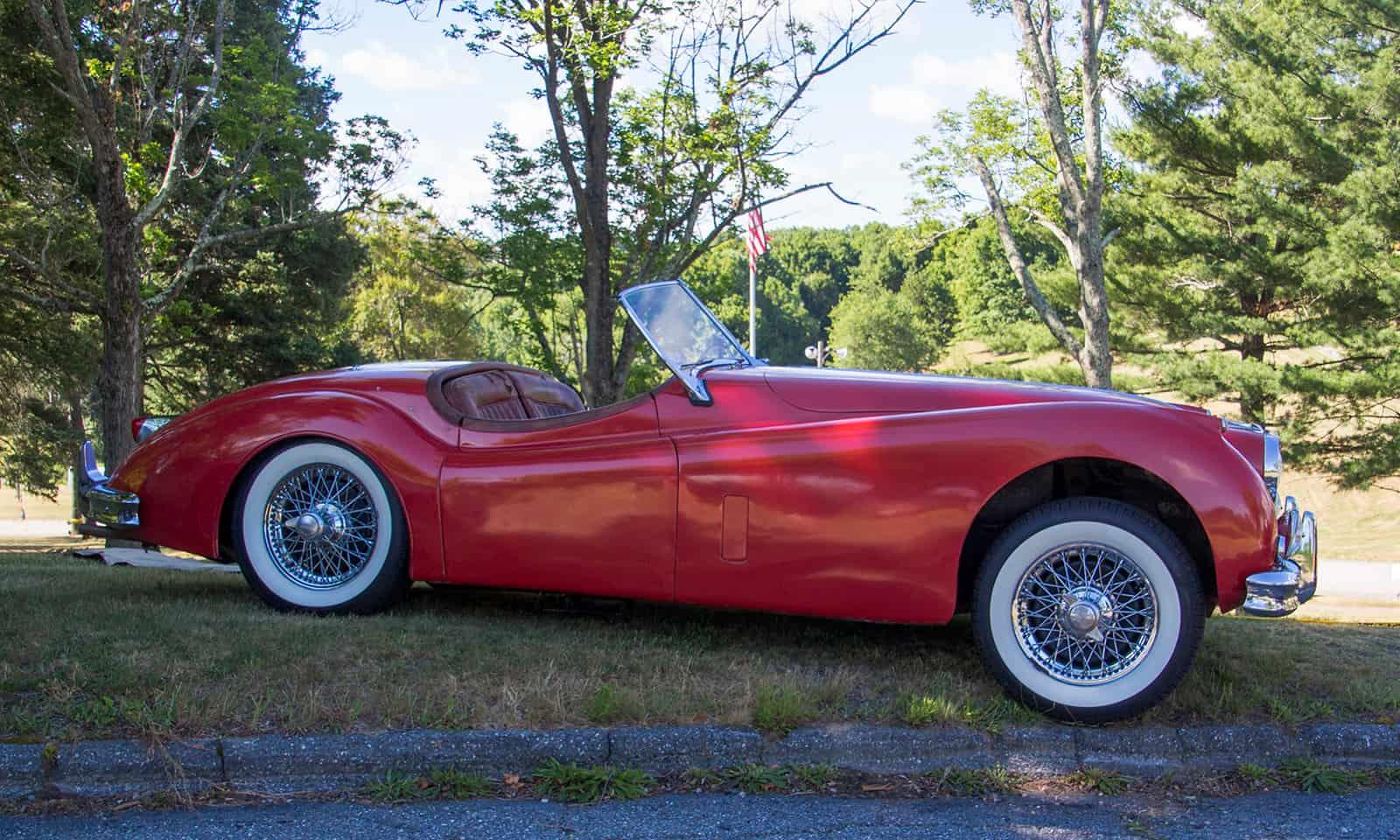 2016 Cars of Summer Red Jaguar