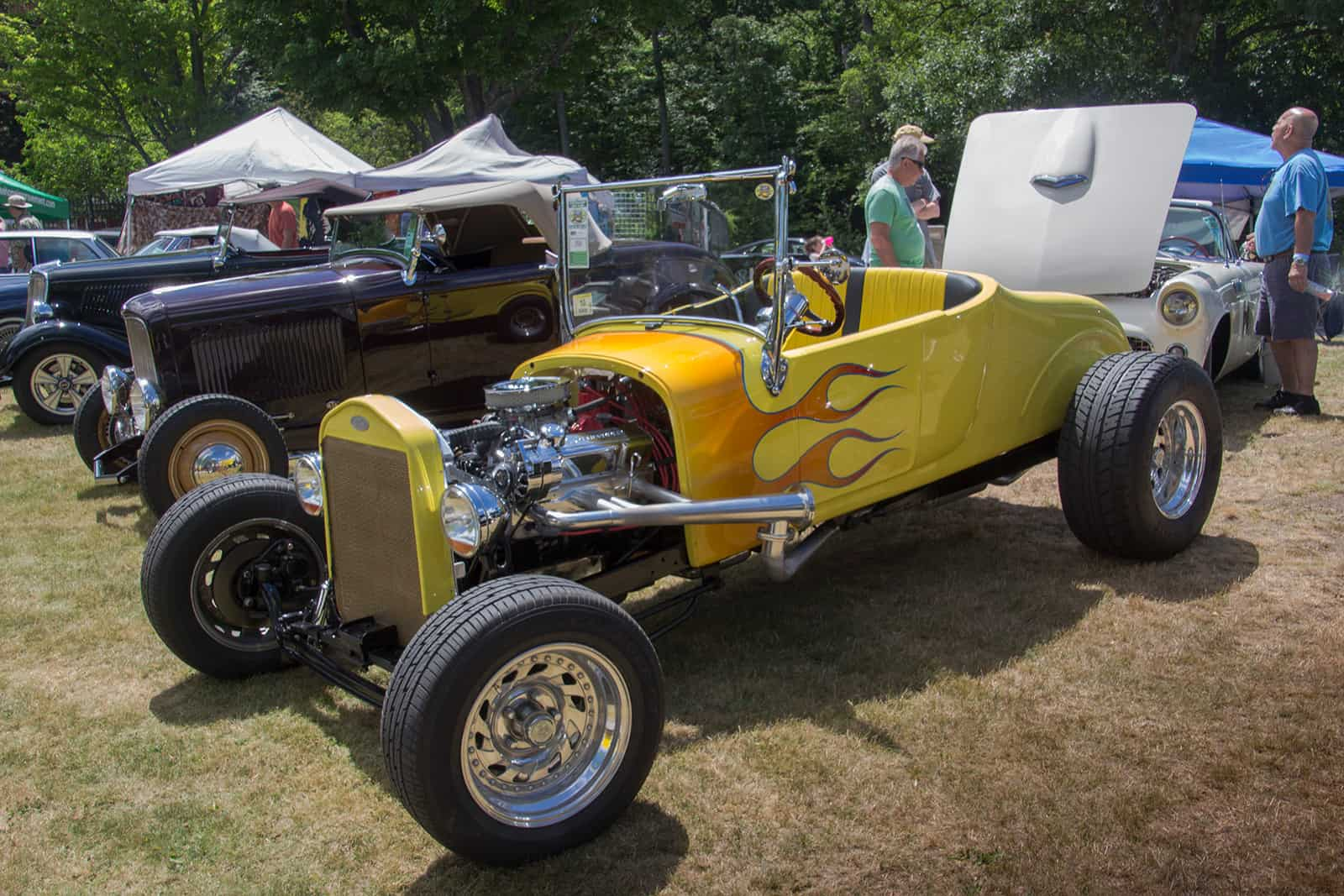 2016 Cars of Summer Yellow Hot Rod