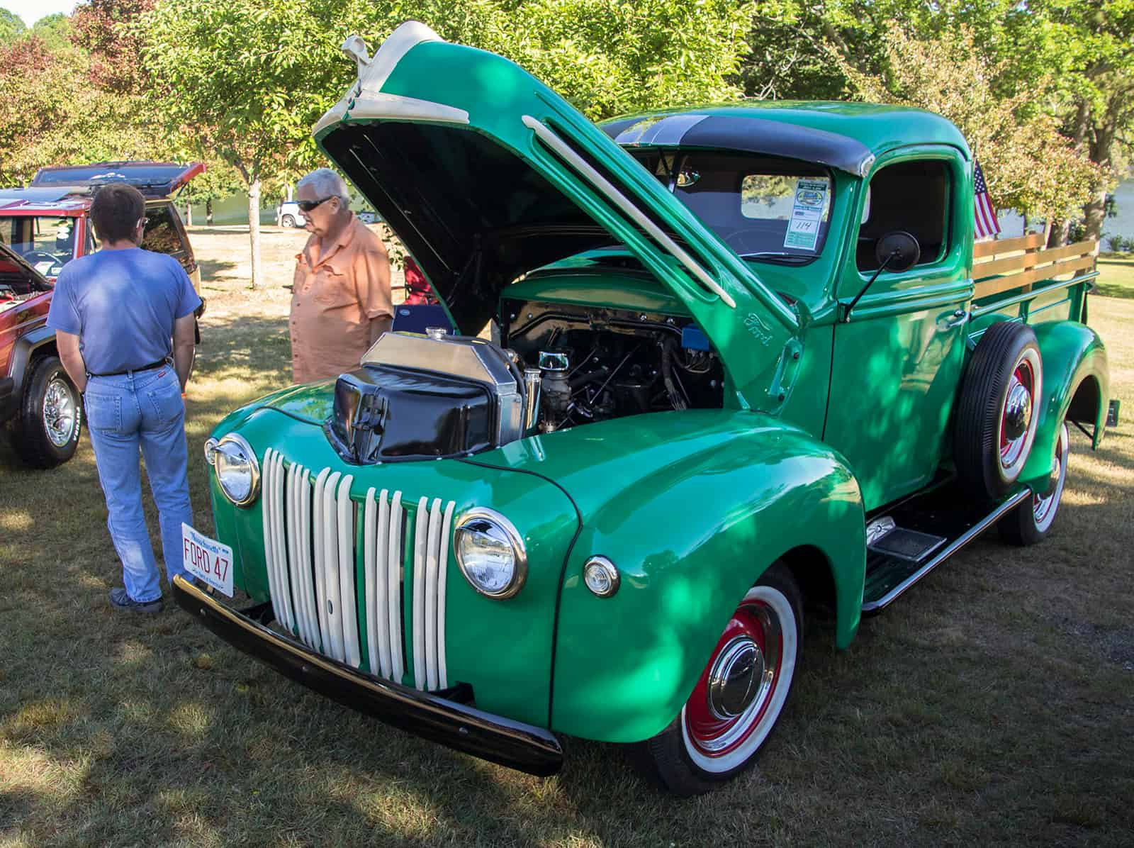2016 Cars of Summer - Mike's 47 Ford Truck
