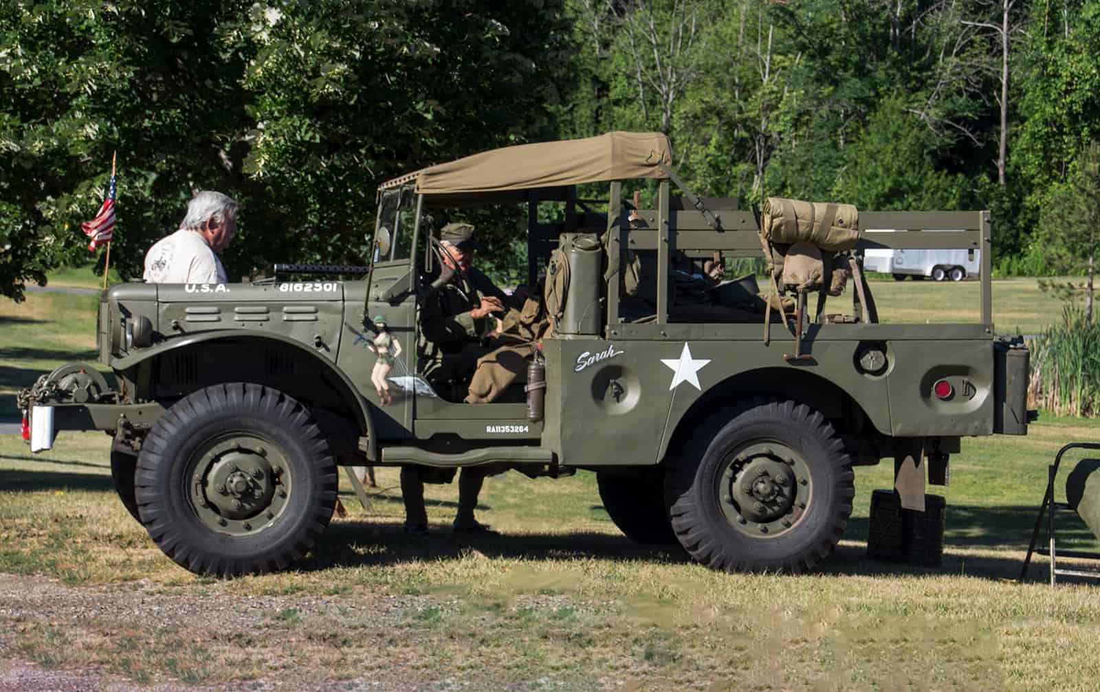 2016 Cars of Summer Military Vehicles