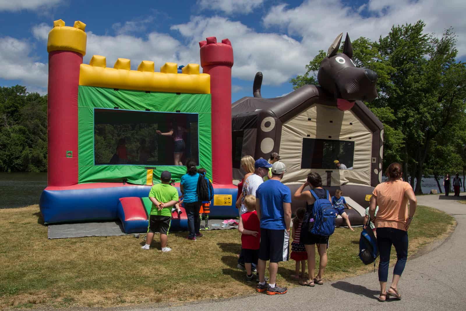 2016 Cars of Summer, Bounce Houses for the kids