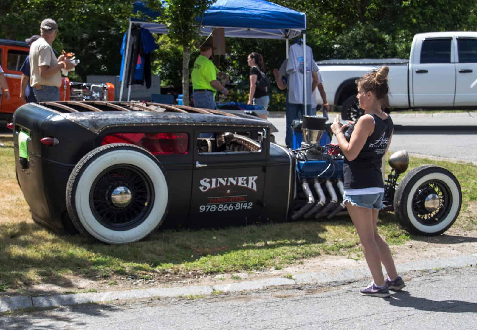 2016 Cars of Summer Black Hot Rod - Sinner