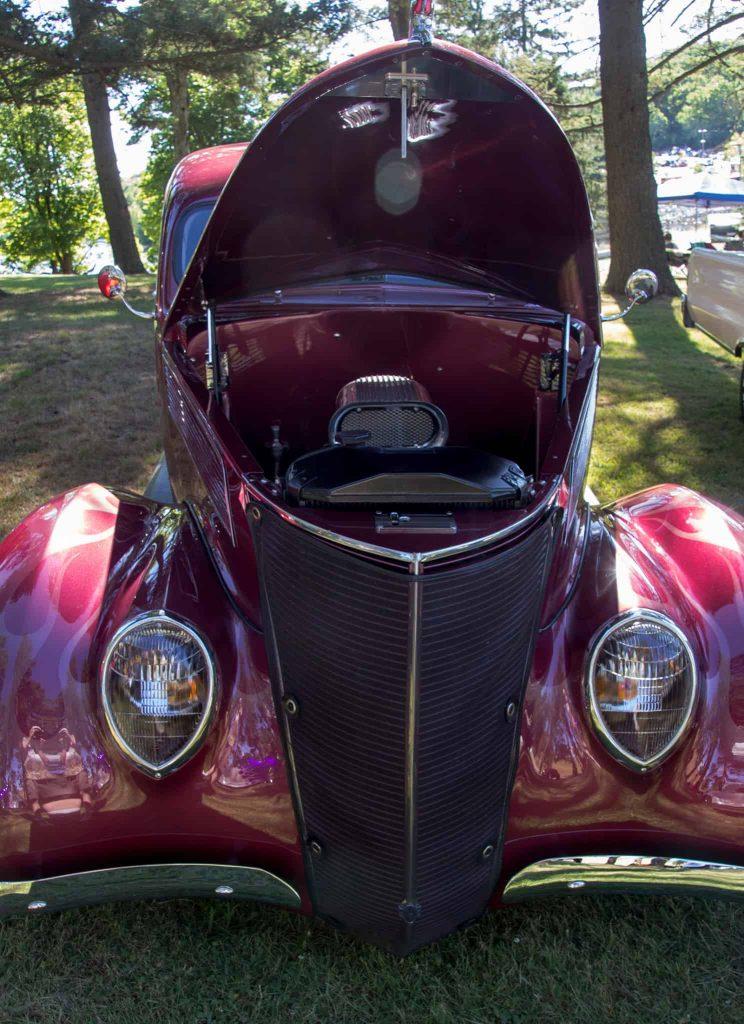 2016 Cars of Summer Vintage Street Rod Ford Crimson