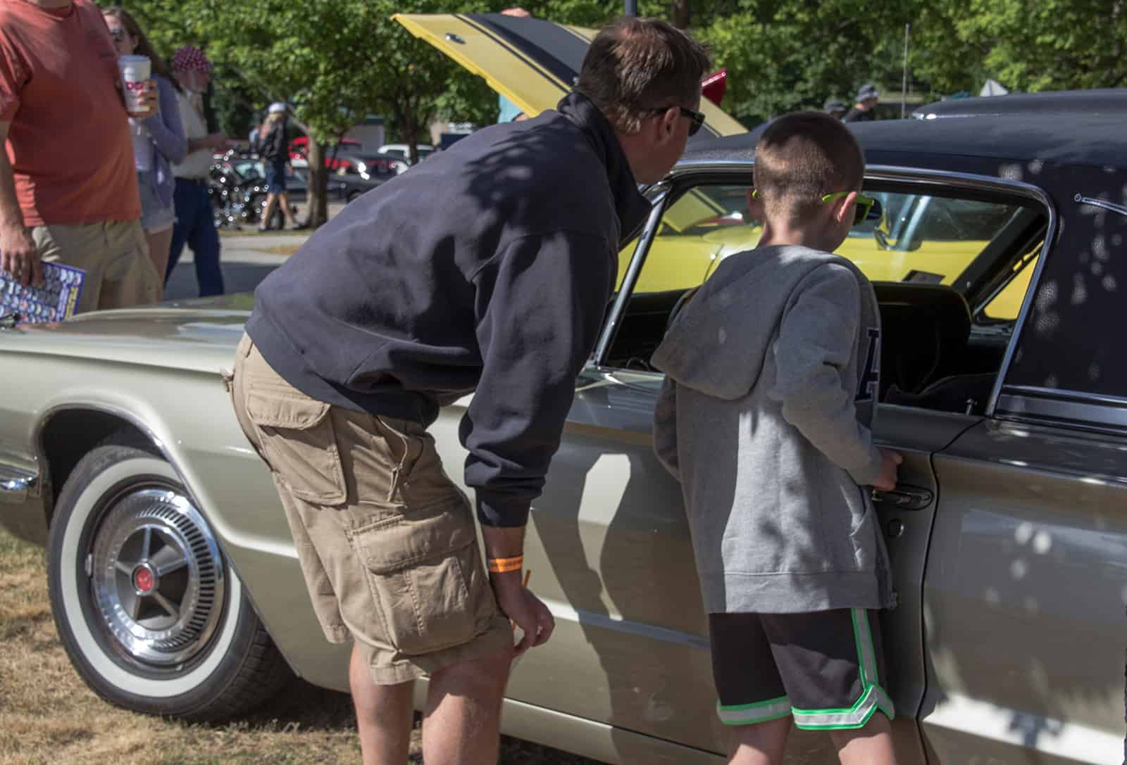 2016 Cars of Summer - Thunderbird Father and Son