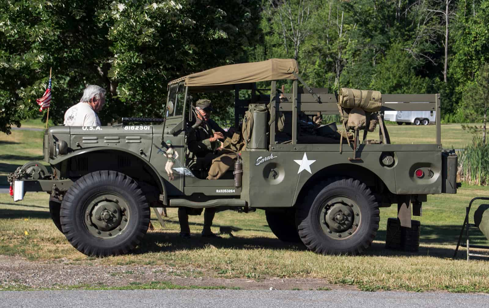 2016 Cars of Summer Vintage Military Vehicle Star