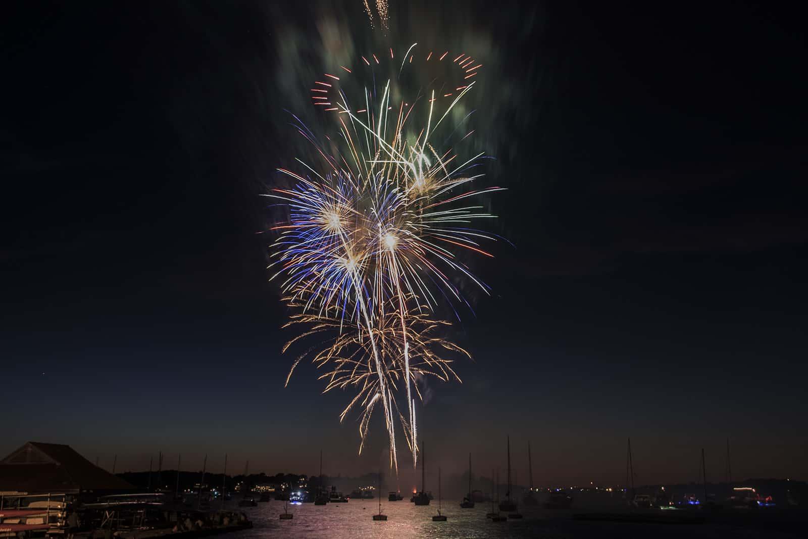 Hingham Harbor Fireworks