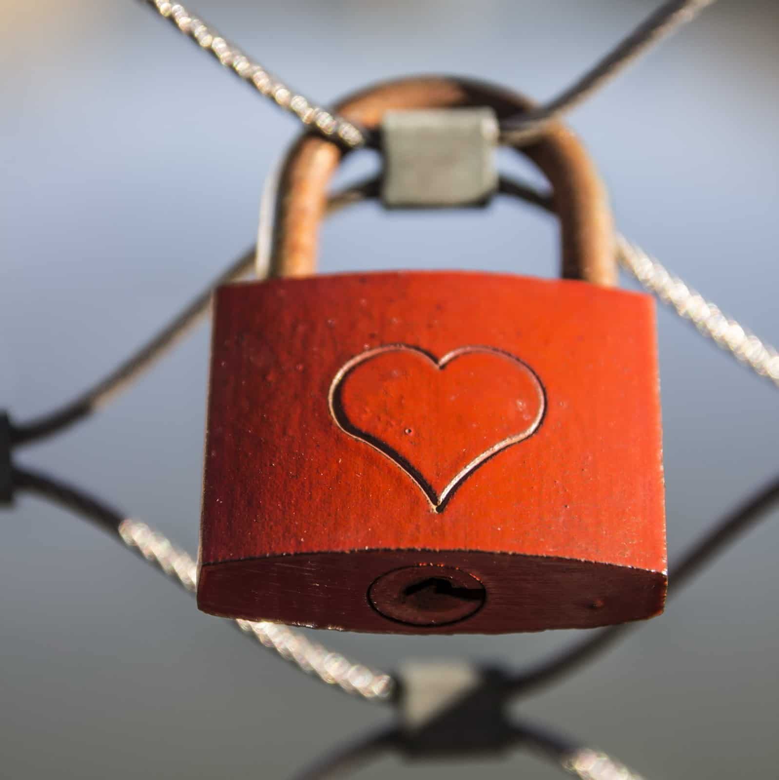 Cape Cod Valentines Day - Heart Lock