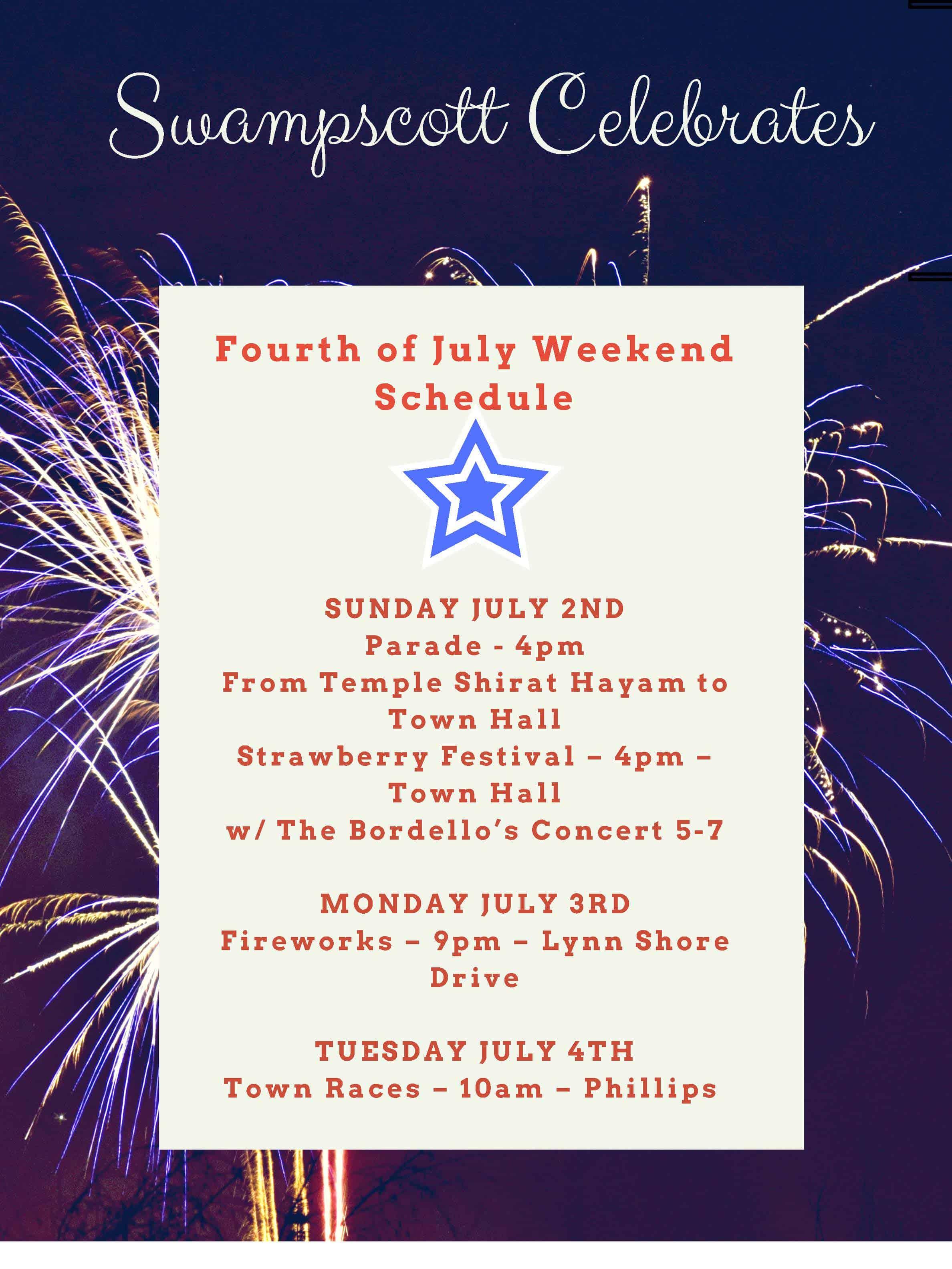 4th of July Swampscott MA